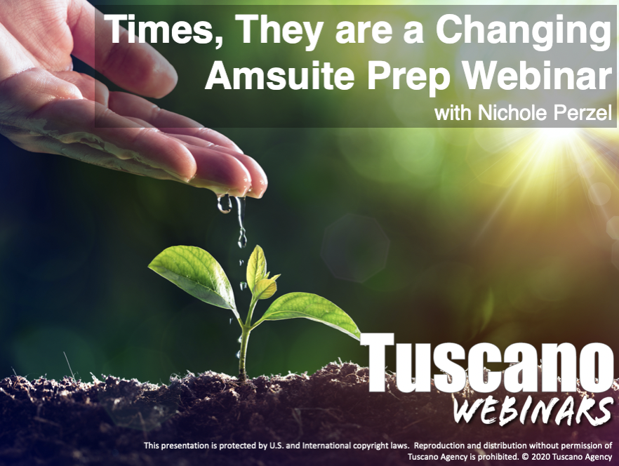 Times, They are a Changing. AMsuite Prep Webinar