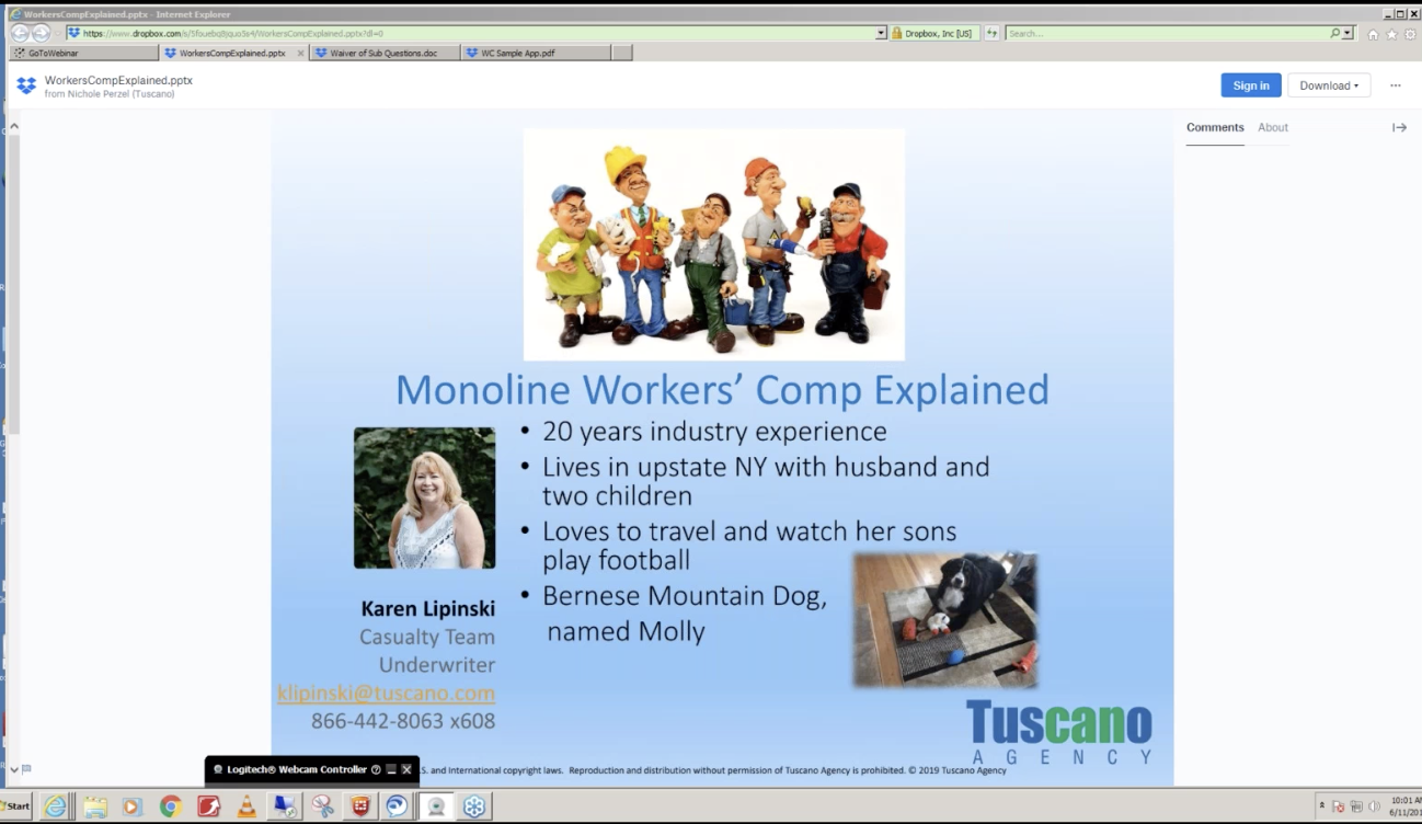 Monoline Workers' Comp Explained