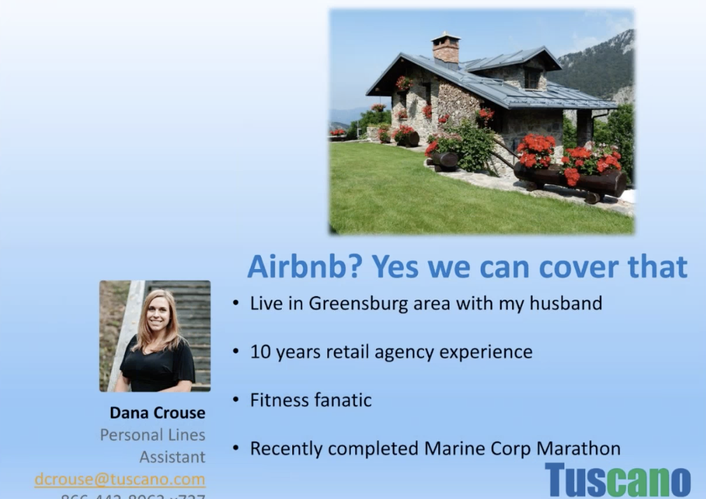 Airbnb? Yes, we can cover that!