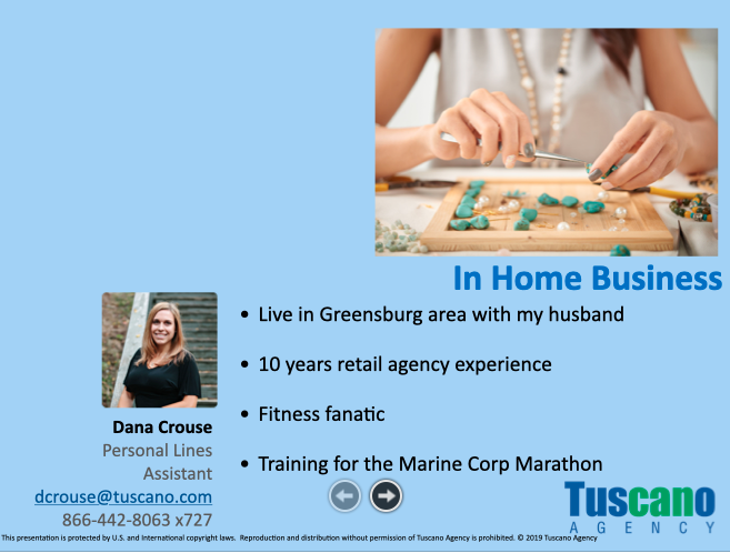 Home Based Business & In Home Office Exposures
