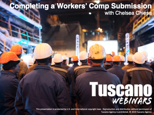Completing a Workers' Comp Submission